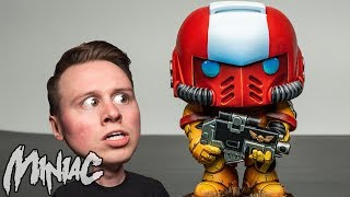 Painting a Funko Pop SPACE MARINE!