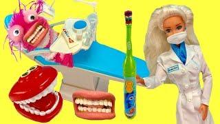 Phoebe Visits  Barbie Dentist