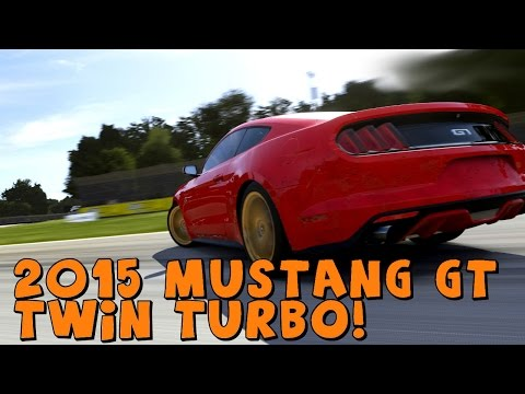 Forza 5 | 2015 Ford Mustang GT Twin Turbo | Drift Build!