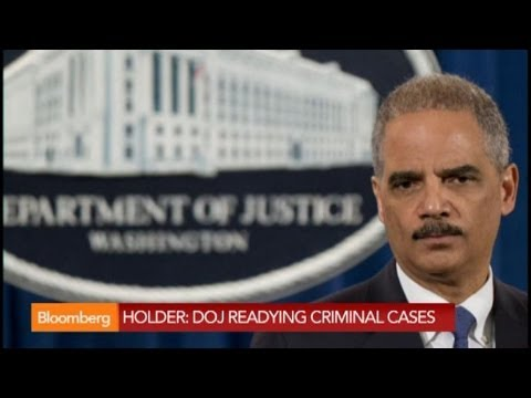 U.S. AG Holder: Too Big to Jail Does Not Exist