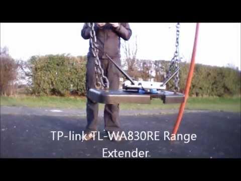 AR Drone 2.0 - 630 Metre FPV flight -  TPLink WA830RE Range extender