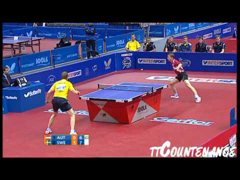 European Championships: Jorgen Persson-Werner Schlager
