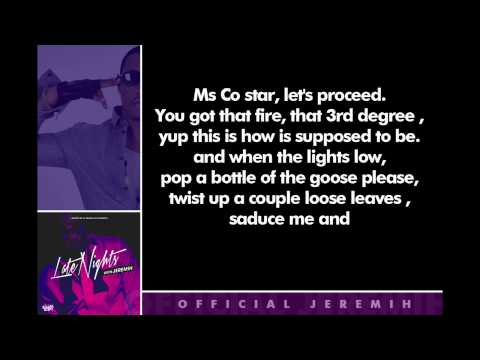 Jeremih - 773 Love [Lryics]