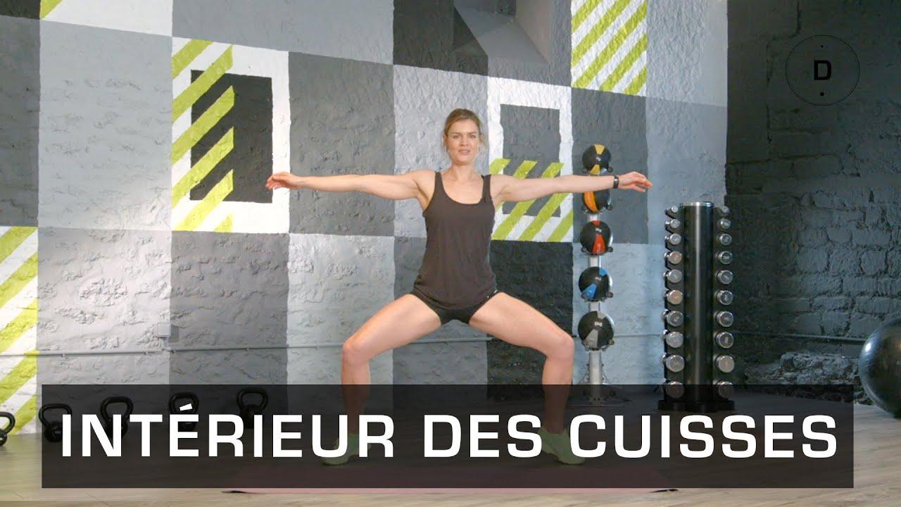 Fitness Master Class - Intérieur des cuisses - Lucile Woodward