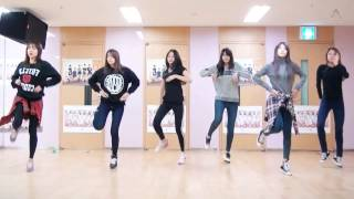 Apink LUV mirrored dance practice video