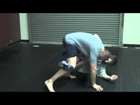 Training Journal 4-5-11 Catch Wrestling Single Leg Counter to a Knee Bar Image 1