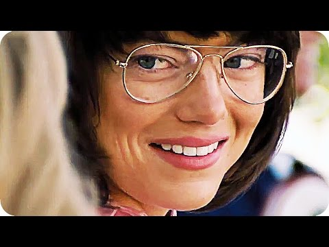 BATTLE OF THE SEXES Trailer (2017) Emma Stone, Steve Carell Tennis Movie streaming vf