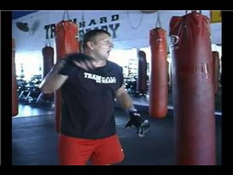 Kickboxing : Advanced Jab Cross Both Elbows Combination Image 1