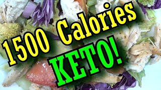 1500 Calorie Meal Plan (Keto)