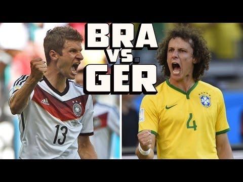 Brazil vs Germany Semi Final Preview