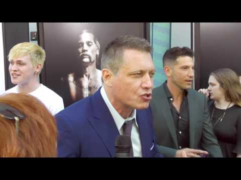 2017 Los Angeles Film Festival - Carpet Chat With Holt Macallany