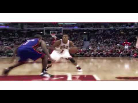 BEST Derrick Rose Mixtape-Not Afraid Video