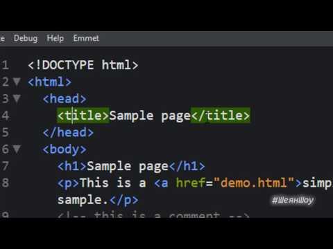 Как создать свой сайт самому, с нуля, бесплатно. Обучение HTML и CSS. Пошаговая инструкция. Урок 4