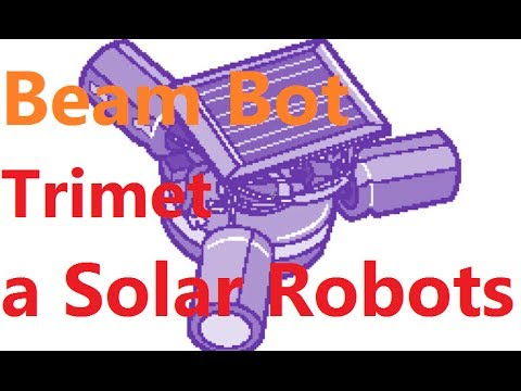 How To Make a Beam Bot (Trimet / Symet) Solar Robots