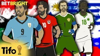 FIFA World Cup 2018™: 'Group A' Tactical Preview