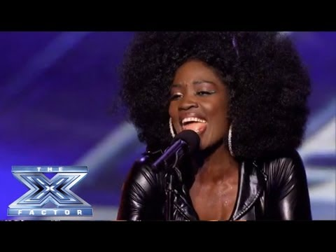 Lillie Mccloud - Crowd-surprising Cover Of Cece Winans' alabaster Box - The X Factor Usa 2013 video