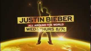 BIEBER NBC SPECIAL starts TONIGHT and TOMORROW at 8pm