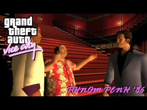 "GTA Vice City Walkthrough HD - Mission 14 "" Phnom Penh '86 """