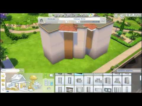 Строим многоквартирный дом в The Sims 4 Speed building 1 часть. - YouTube
