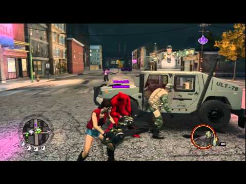 Saints Row the Third - Chainsaw and Other New Weapons