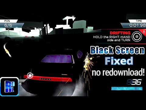 NFS Most Wanted android Black screen / Graphic Fix