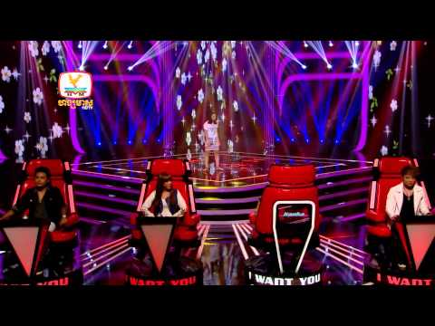 The Voice Cambodia - Va Sochetra - Skinny Love - 17 Aug 2014