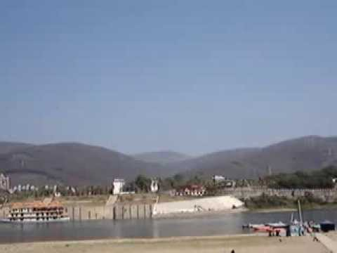 Xishuangbanna Big Bridge Over Mekong River (lancang Jiang Or Lanxang River) video