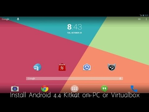 Install Android 4.4 Kitkat On Pc Or Virtualbox video