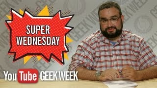 START HERE: Super Wednesday Highlights with Matt Mira from Nerdist (YouTube Geek Week)