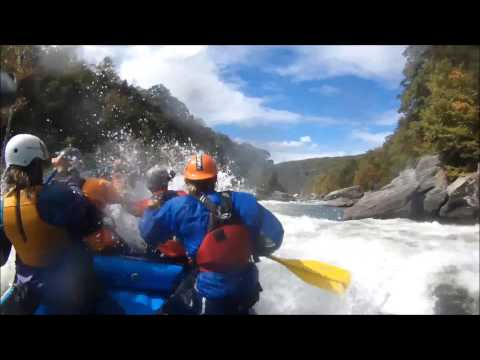 Upper Gauley Rafting GuideCam Highlights 10-05-2014