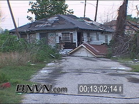 5/5/2006 New Orleans, LA - Nine Month's After Katrina Part 7 - Lower Ninth Ward Destruction