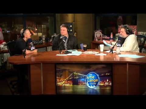 The Artie Lange Show - Jim Norton  (in studio) PART 1