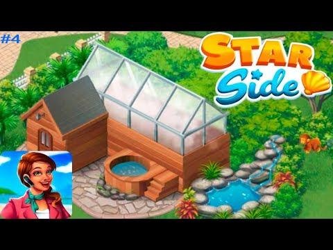 Starside Курорт Знаменитостей #4 Ремонт сауны и настойчивые поклонники! Игровое видео Let's Play