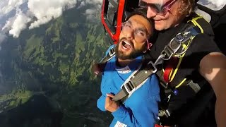 Ranveer Singh Skydiving Video