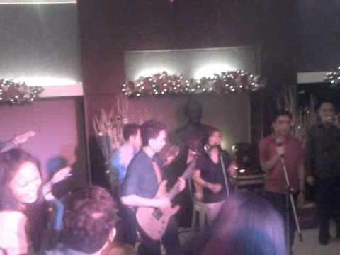 St lukes college student XMAS party Dec18,2009
