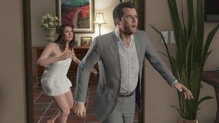 Grand Theft Auto 5 - Amanda Caught CHEATING, S** With The Tennis Coach