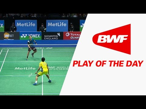 Play Of The Day | Badminton SF – Yonex All England Open 2016
