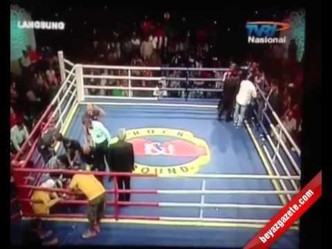 boks maçında öldü