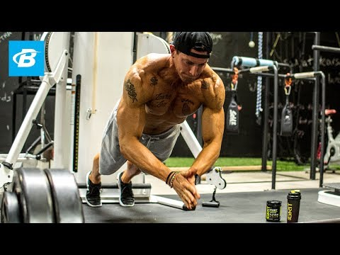 Steve Weatherford performs this full-body workout that focuses on building strength and power. Get The Full Workout Here: http://bbcom.me/1QYsx4y Phase 1 was all about hypertrophy, an aspect...