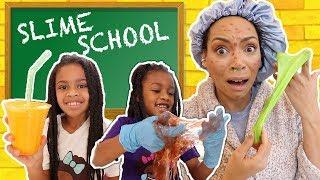 Slime School Sick Day ! - New Toy School