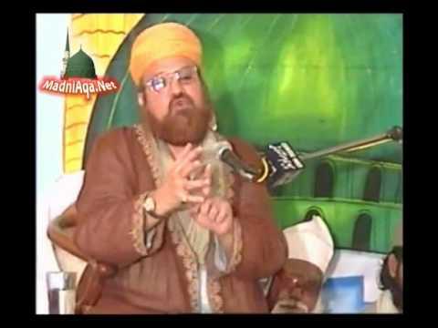 Allama Kokab Noorani Okarvi Sahib (Karachi)  with Baba Jee Sarkar (Chura Shareef)