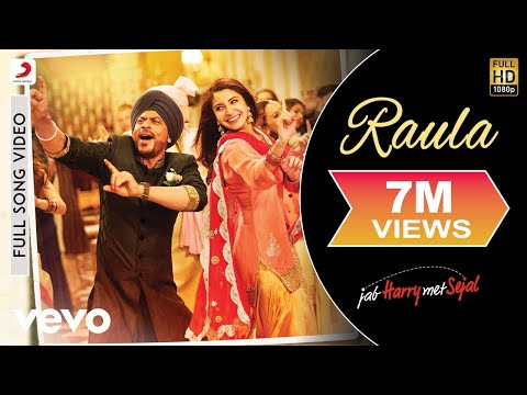 Raula - Full Song Video| Shah Rukh| Anushka| Pritam | Diljit Dosanjh