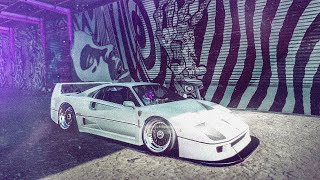 NFS HEAT / FERRARI F40 / CUSTOMIZATION AND GAMEPLAY