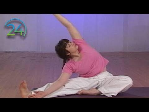 Hatha Yoga 1 -Easy Ground Work - Full 43 Minute Class