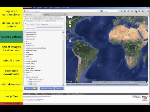 How to download multiple MODIS NDVI images for time series