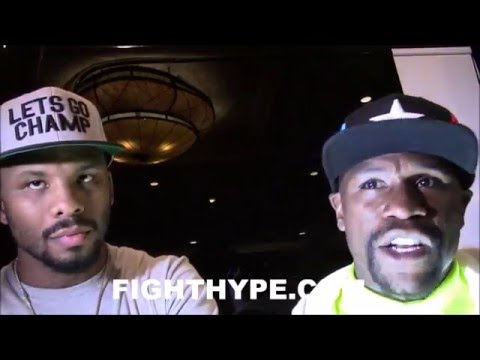"FLOYD MAYWEATHER SAYS BADOU JACK ""TUNE-UP"" WITH JAMES DEGALE HEADING OVERSEAS; TALKS FUTURE PLANS"