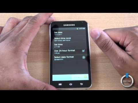 Samsung Galaxy Player 5.0 Unboxing - BWOne.com