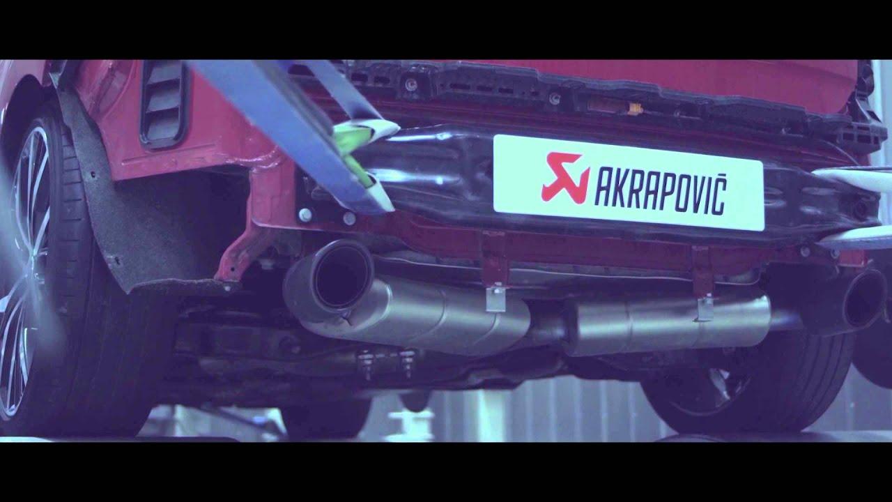 Vw Golf Vii Gti With Akrapovič Evolution Exhaust System