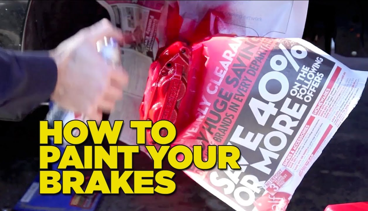 How To Paint Your Brake Calipers Diy Youtube