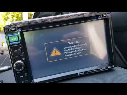 Parking brake bypass for in dash dvd/gps (simplest way)
